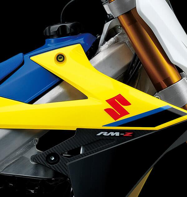 Estampado lateral RM-Z Suzuki