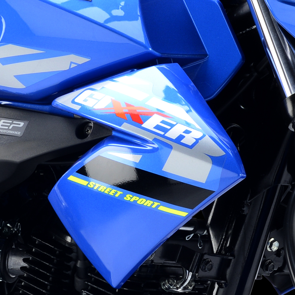 Versión con colores y estampados MotoGP
