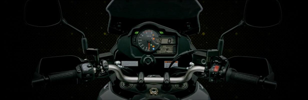 Un poderoso sistema de frenos para una poderosa moto