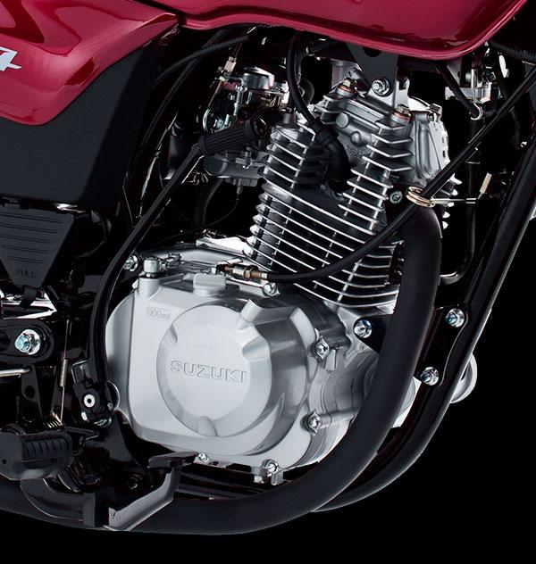 Motor monocilíndrico de 4 tiempos