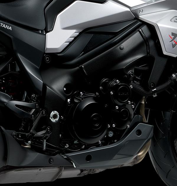 Motor de 999cc con 4 cilindros en línea