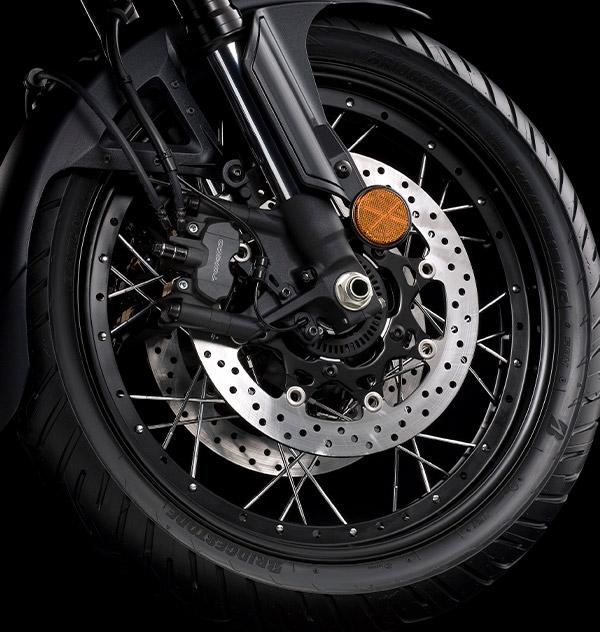Sistema de frenos ABS en ambas ruedas