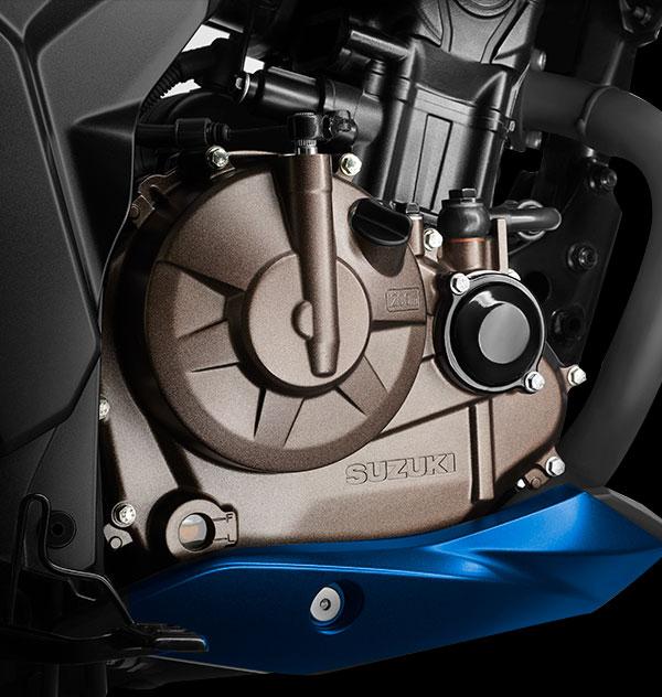 Nueva cubierta del motor en color Bronce