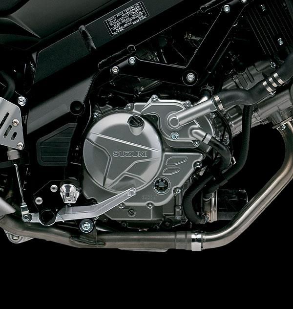 Motor de 4 tiempos, 2 cilindros V