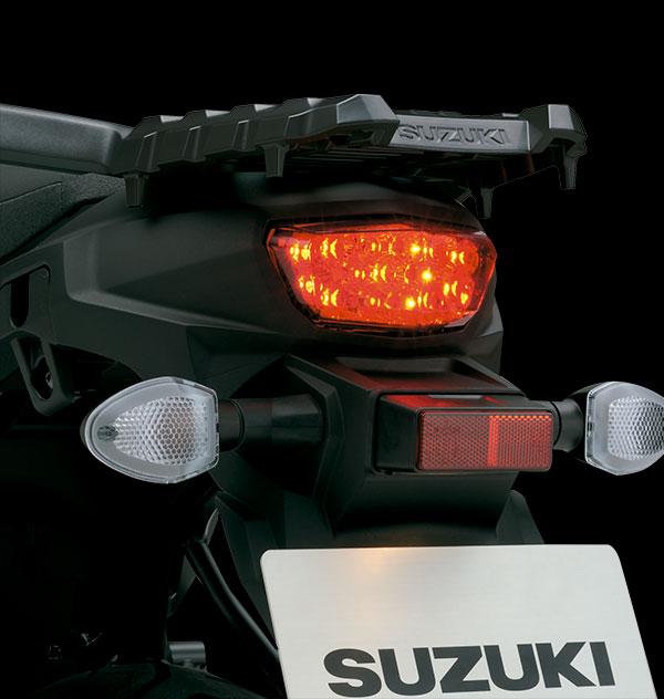 Stop trasero LED de alta visibilidad