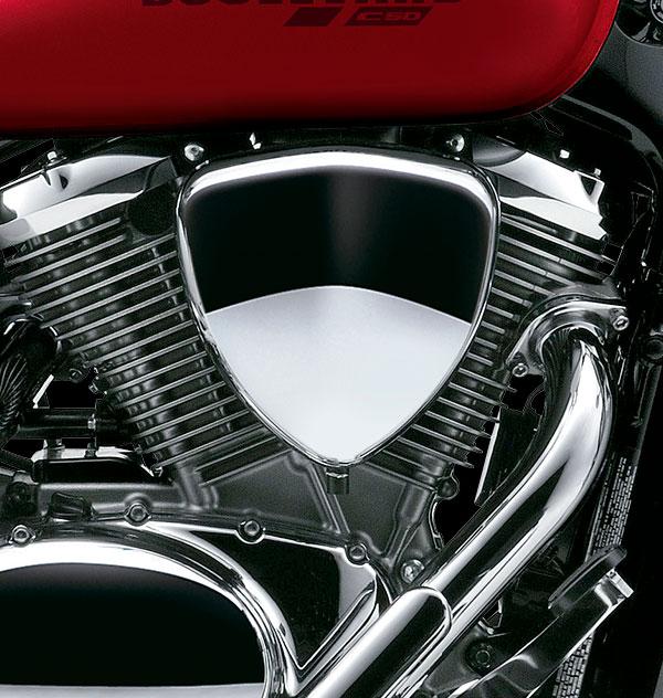 Motor 2 cilindros en V, 4 tiempos