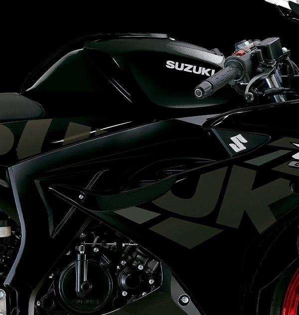 Versión con colores y estampado MotoGP